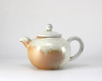 Handmade Korean Wood-Fired Natural Glaze Teapot, Gong Fu Cha, Tea Ceremony