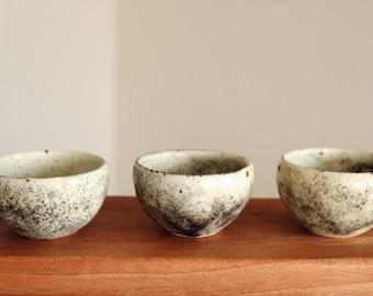 Handmade Charcoal-fired Korean Dumbung Tea Cups, Small, Gong Fu Tea, Tea Ceremony