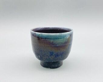 Handmade Charcoal-fired Korean Iridescent Teacup