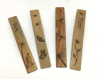 Extra Large Wooden Bookmark - Choice of Designs