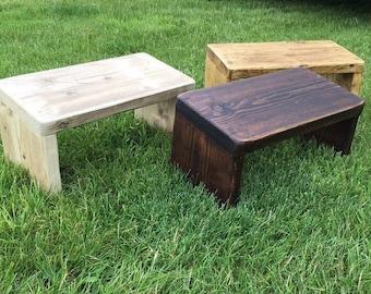Meditation Stools - Reclaimed Wood
