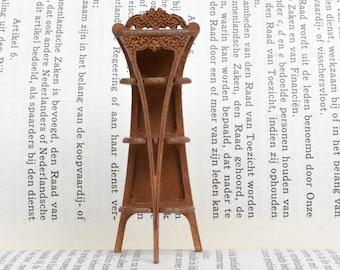 Art Nouveau Whatnot dollshouse miniature 1:24 kit