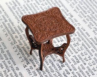 1:24 Wine Table dollhouse miniature kit
