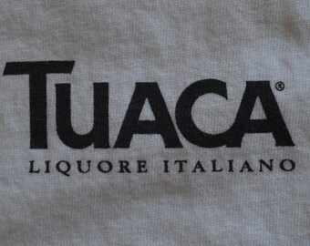 Large // Tuaca // T-Shirt // Tee // Italy // Italian // Liquor