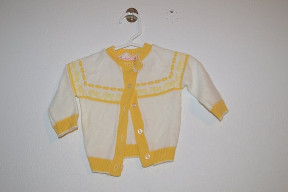 Vintage 1980s youth kids  3T Acrylic made in Great Britain for Joseph Magnin