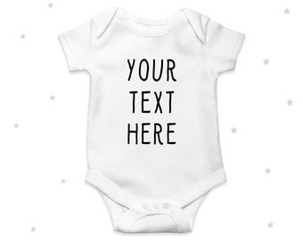 Short Sleeve Baby Vest Bodysuit Boys Girls Hippowarehouse Could I BE Any Cuter