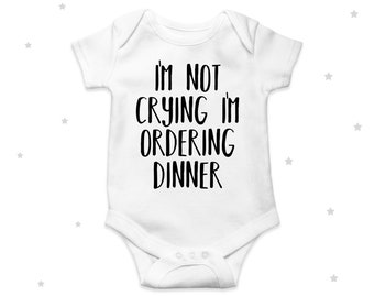 Custom Baby Bodysuit Boob Its Whats for Dinner Funny Humor Boy /& Girl Clothes