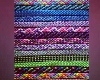 Design your own - Stunning Soft Rope Dog Lead. Beautiful Colours. Silver - rose gold - rainbow - small trigger clip - different lengths