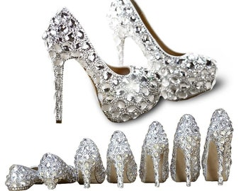 29e403328 CREATEME™ Custom Bling Wedding Shoes - Birthday