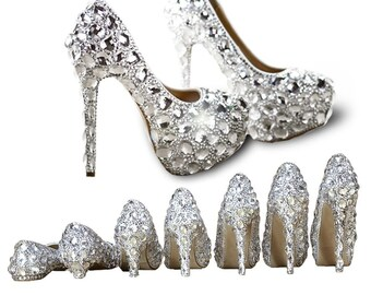 c018bdc0780 CREATEME™ Custom Bling Wedding Shoes - Birthday