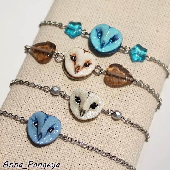 Owl bracelet Jewellery with owl