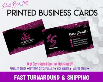 Paparazzi business cards printed etsy printed paparazzi business cards glitter paparazzi business card paparazzi jewelry paparazzi digital file available free shipping colourmoves