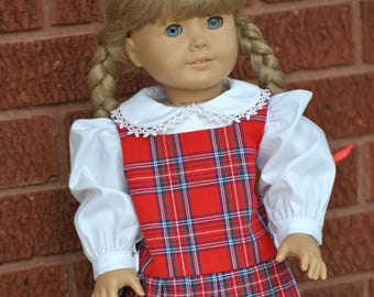 Two-Piece School Girl Outfit for American Girl / 18-inch Doll