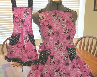 Mother daughter apron set