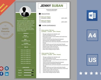 Professional Resume/modern CV