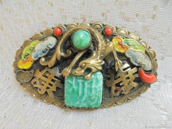 brooch MAX NEIGER, Egyptian Renaissance