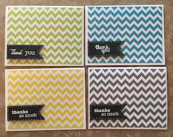 Thank You Cards- set of 4