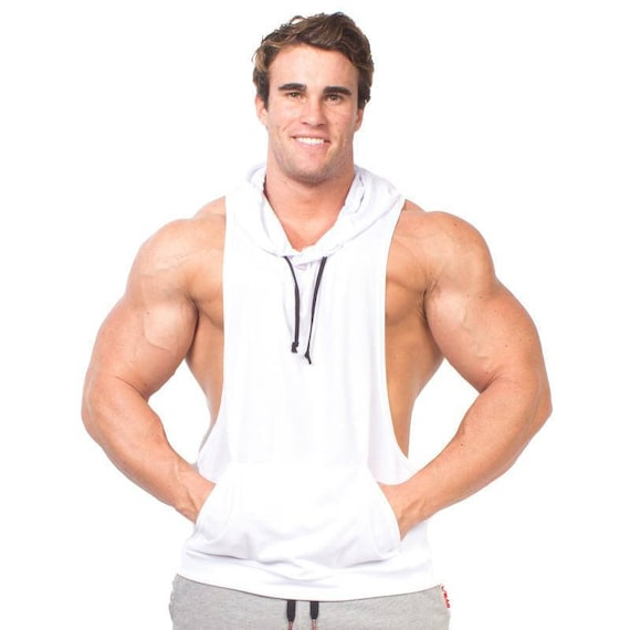 2976701ca82cd0 Men s Racerback Dry Fit Sleeveless Stringer Hoodie
