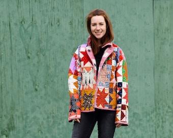Patchwork Chore Coat Pattern