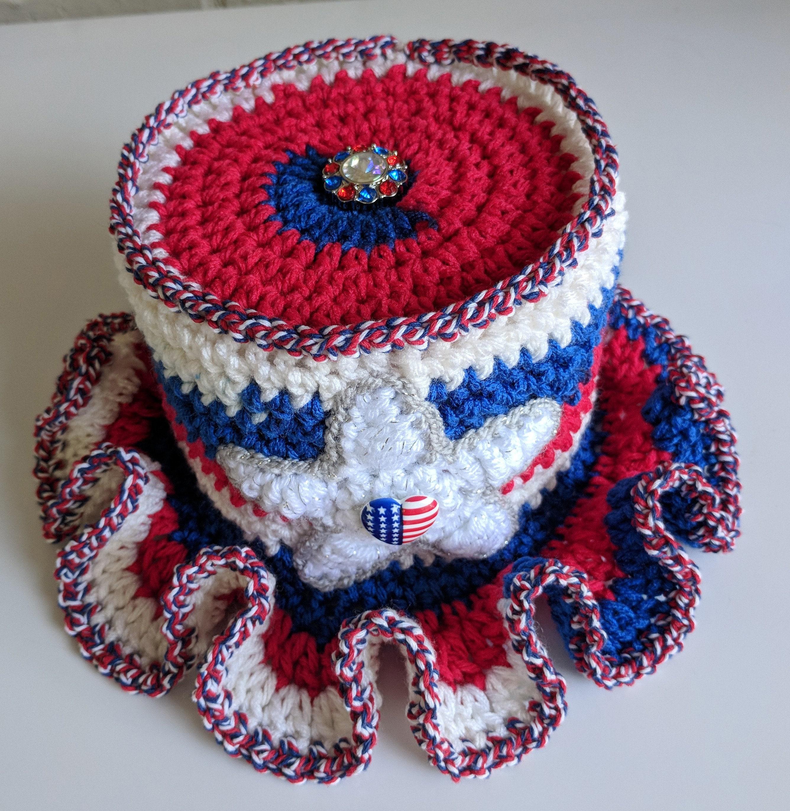 Patriotic Bathroom Mega Roll Tissue Toilet Paper Cover Hat Etsy