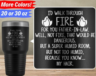 Funny Father In Law Gifts For Tumbler Travel Mug Cup Gift Idea Birthday Best Ever