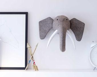 Felt Elephants Etsy