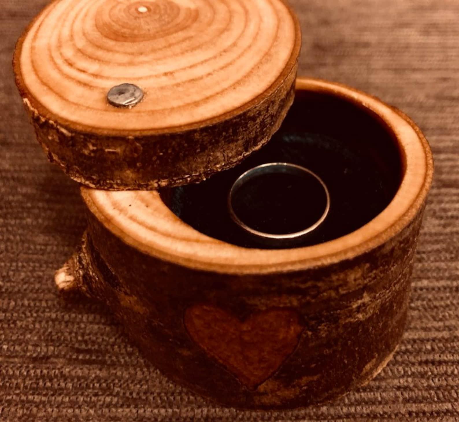 Dartmoor wood ring box
