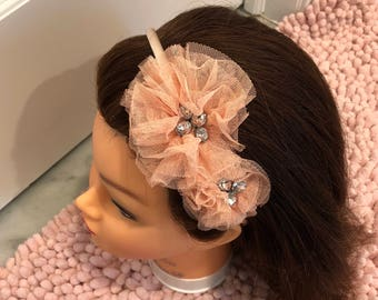 Double Flower Headbands
