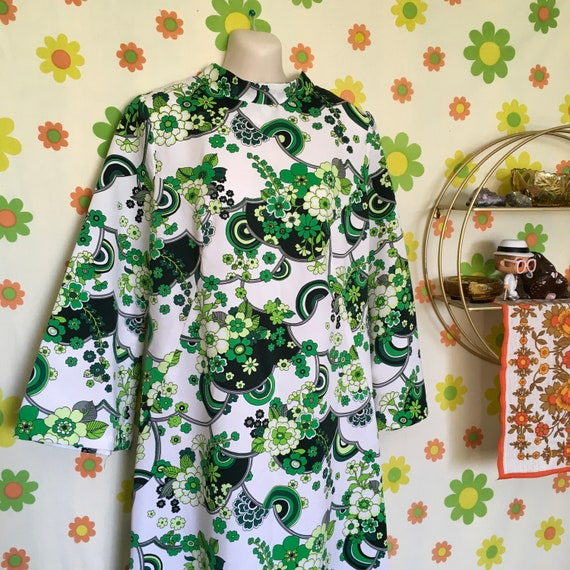 Totally Groovy 1970's Maxi Dress