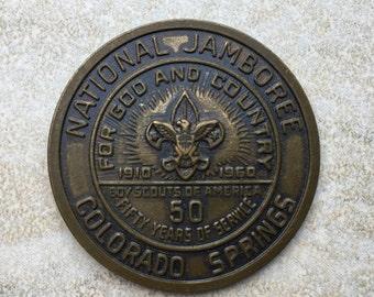 1960 BSA National Jamboree Coin