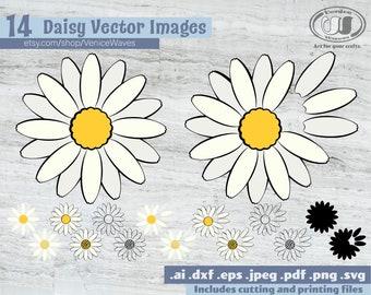 Daisy svg | Etsy