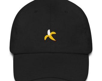 Is dat een banaan op je hoofd? Papa hoed