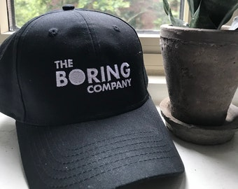 3274759f008 The Boring Company Hat