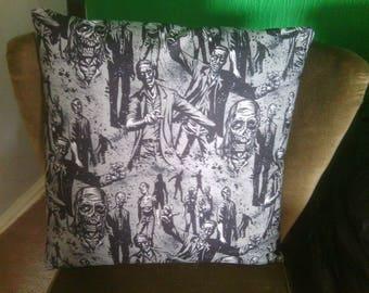 large zombie cushion