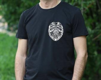 Gotham City Police Department Shirt GCPD T-Shirt Batman tshirt Gotham t shirt gift for men geek shirt Movie t shirt