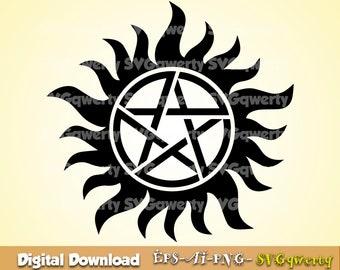 Supernatural Logo Etsy