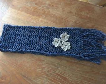 Merino wool handmade scarf for kids