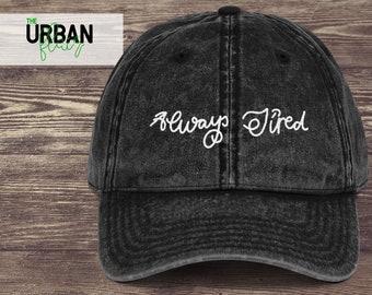 Post Malone Embroidered Dad Hat Trendy Dad Hats Black Denim Maroon Dad Hat  Vintage Baseball Dad Cap Always Tired Dad Hats 4ebcbc4e2771