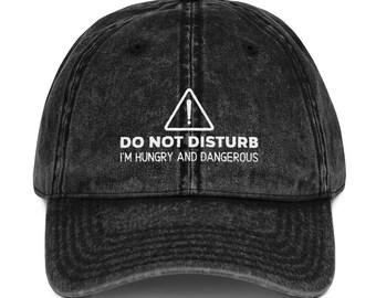 Do Not Disturb Embroidered Dad Hat Trendy Dad Hats Black Denim Maroon Dad  Hat Funny Vintage Baseball Dad Cap 1fccfe4ff2dd