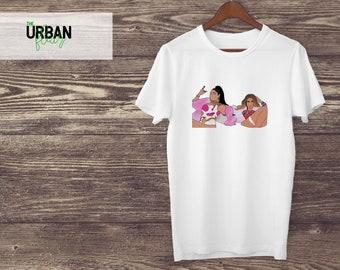 316c61787c4 Nicki Minaj Beyonce graphique graphiques Tee Tshirt Tshirt Tumblr Graphic  Tees pour les femmes Graphic Tees Graphic Tees pour hommes Plus Size Womens  Tee