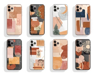 Abstract Phone Case Etsy