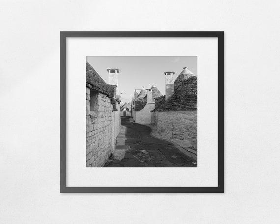 I Trulli di Alberobello - fine art square print - unframed