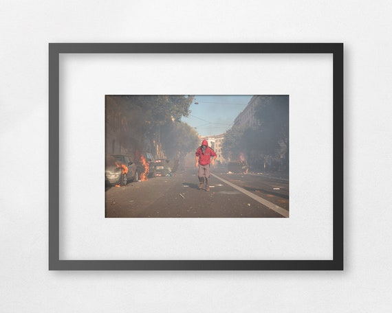Fine art print - The Last Rioter - unframed