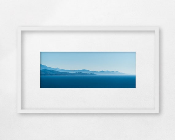 Fine art print - Afternoon Blue Sea - unframed