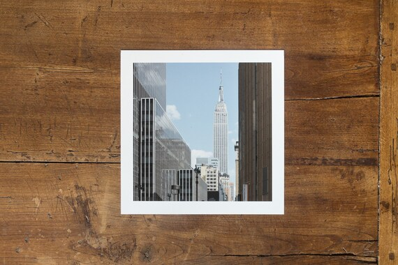 Empire State Building – study n. 5 - Fine Art Print