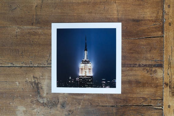 Empire State Building – study n. 4 – Fine art square print