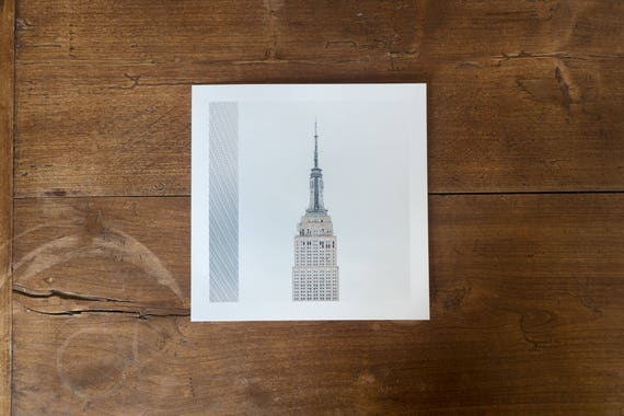 Empire State Building – study n. 2 – Fine art square print