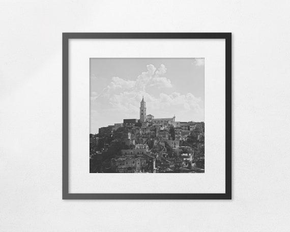 I Sassi di Matera - fine art square print - unframed