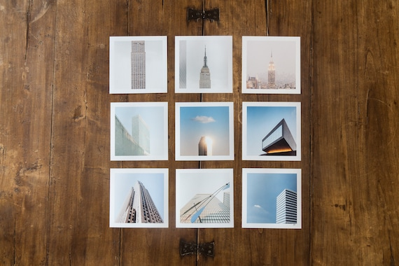 High Rise Architecture - set of 9 fine art prints