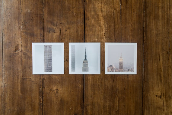 Empire State Building - set of 3 fine art prints
